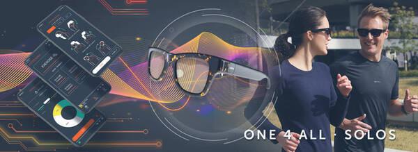 音楽や通話も楽しめるスマートグラス「 Solos smart glasses AirGo2」が発売へ