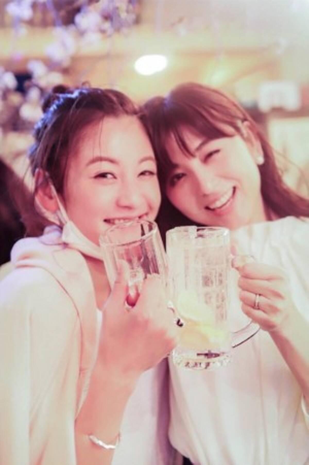 宇賀なつみアナ、親友・西山茉希とのほろ酔い姿に 「日本一酒が似合う ...