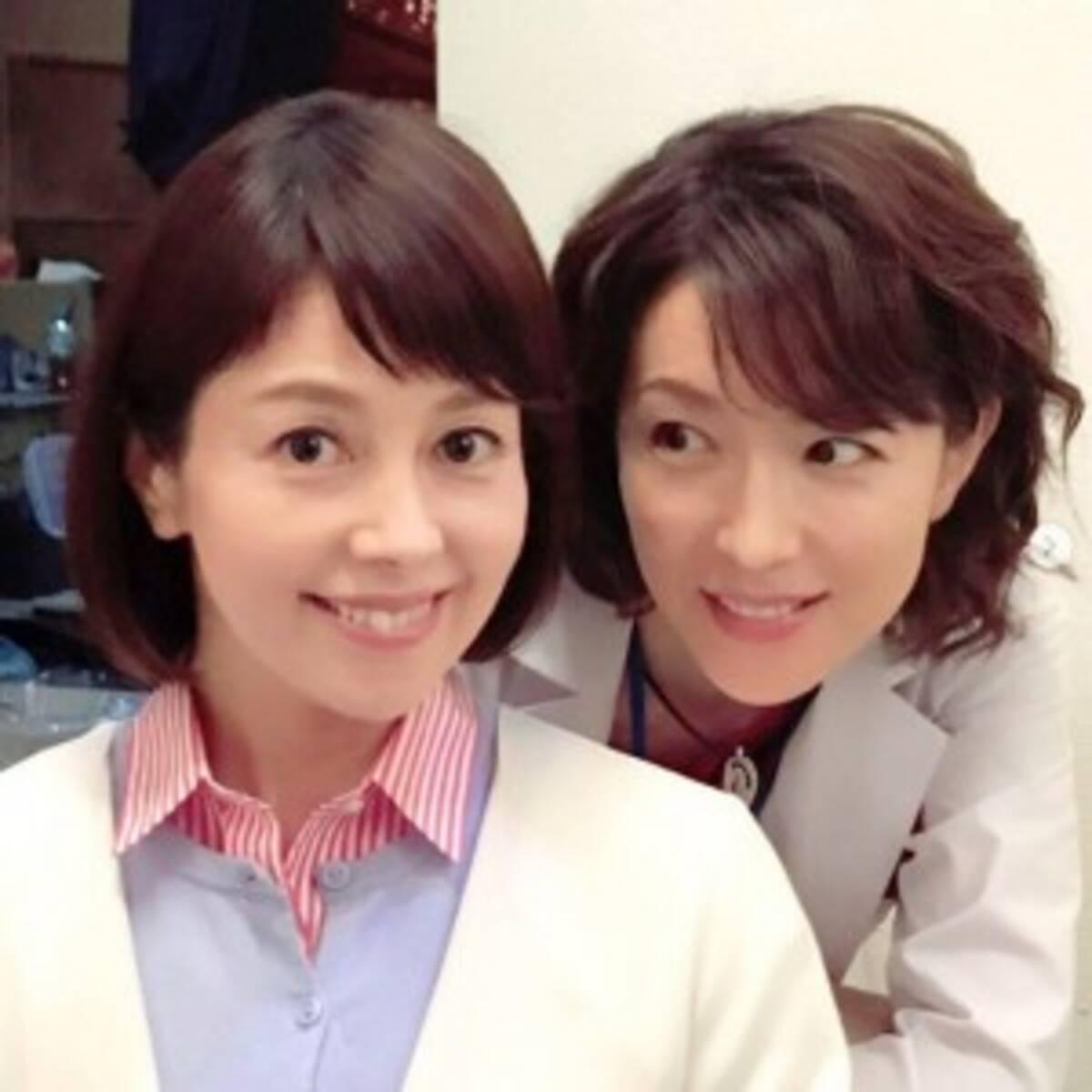 沢口靖子&若村麻由美、奇跡のアラフィフ2ショットに「美しすぎ可愛 ...
