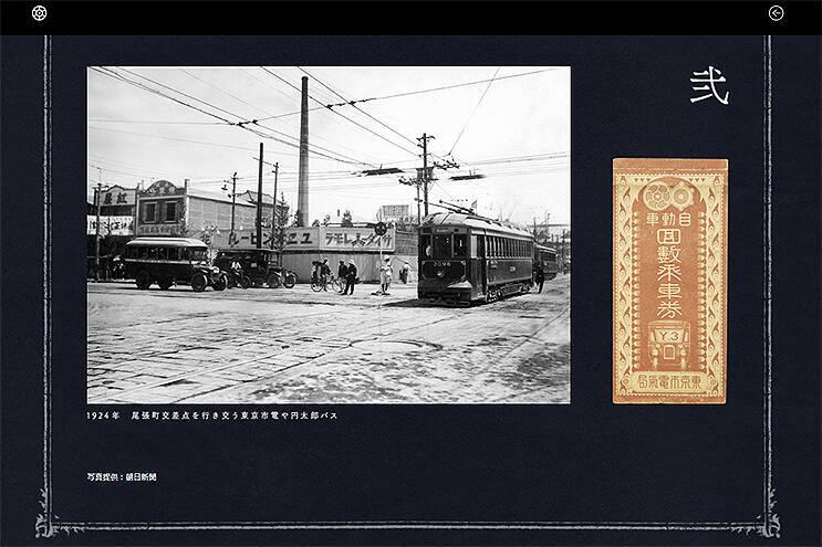 大正時代の渋谷駅や両国駅がみえた!「円太郎バスうごく影絵」で関東大震災直後の東京市街を時間旅行