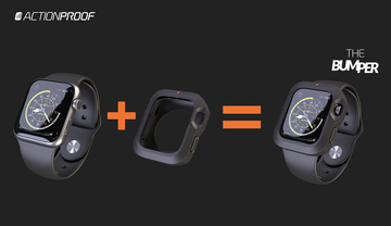 Apple Watchを衝撃から守る「The Bumper by ActionProof」