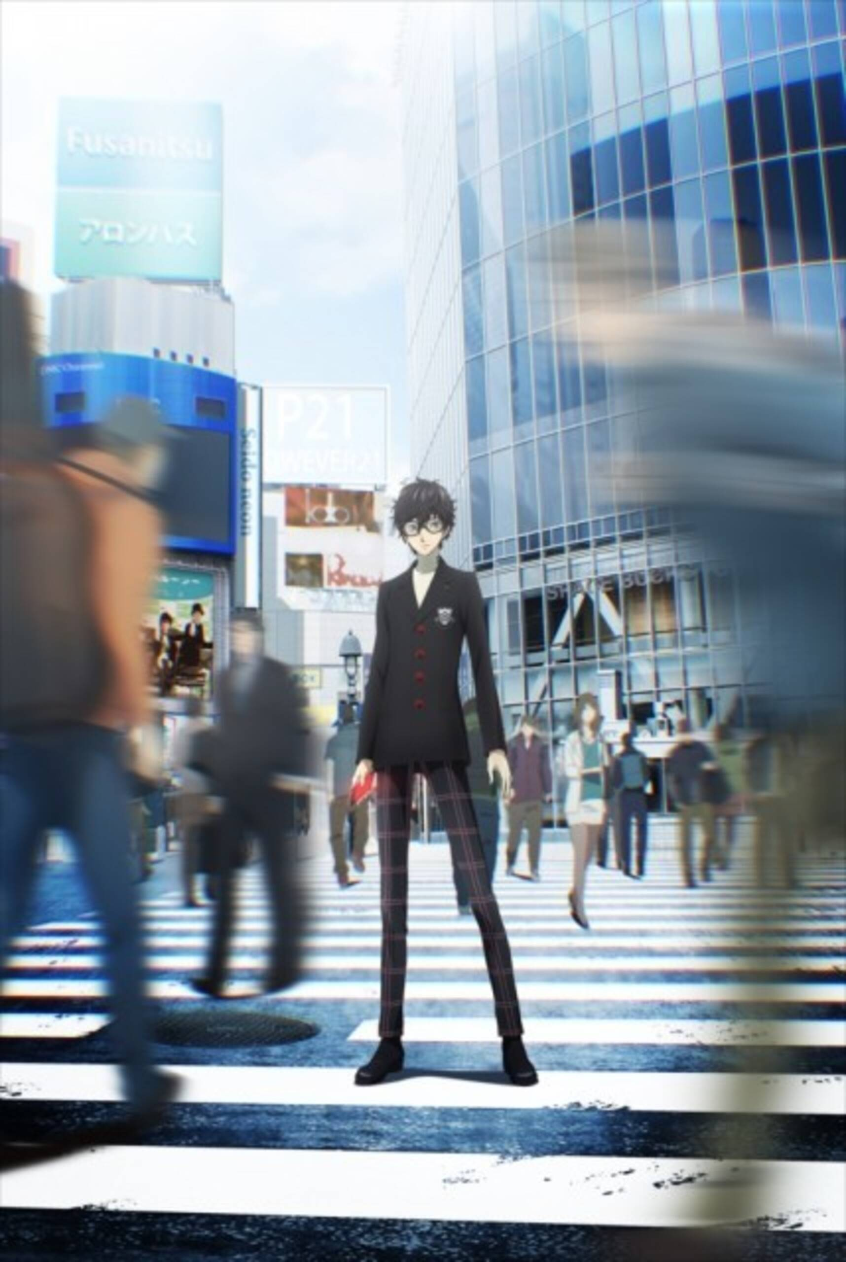 Image result for persona 5 animation key visual