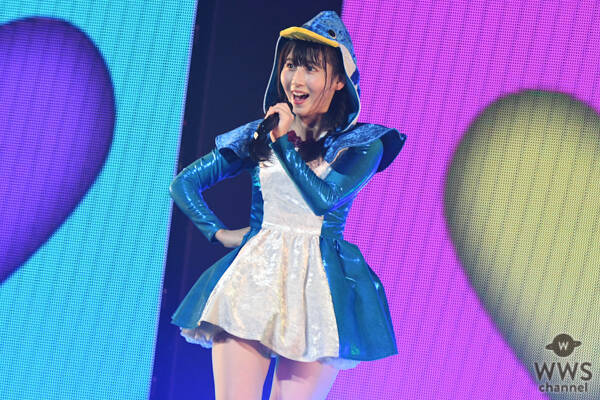 SKE48 井上瑠夏、ステージでペンギンとケンカ!?『走れ!ペンギン』をダイナミックに披露<SKE48選抜メンバーコンサート>