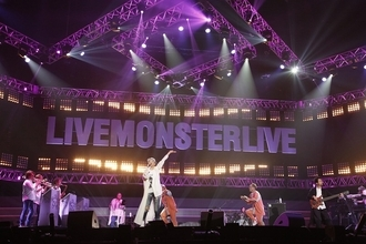 ドリ、VAMPS、GENERATIONS、WANIMAが共演 『LIVE MONSTER LIVE』