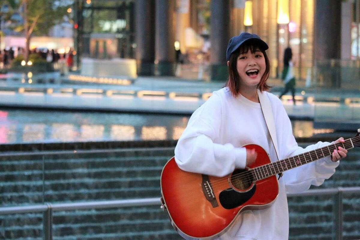 大原櫻子 完全シークレットでストリートライブを敢行 エキサイトニュース
