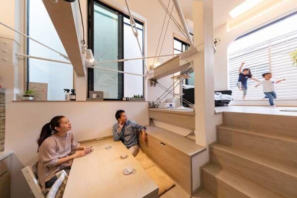 360度広がる都会のパノラマ6坪で叶える快適でゆとりのある暮らし
