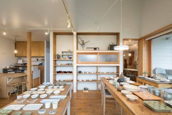 小さなお店のある家家も暮らしの器自分に心地いい暮らし