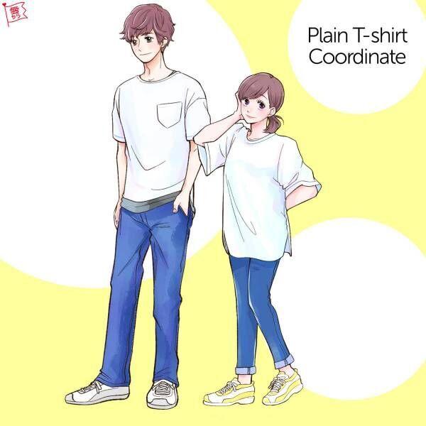 白TシャツGUヘビーウェイトオーバーサイズ