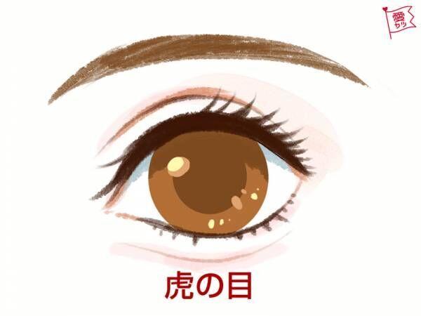 人相・虎の目
