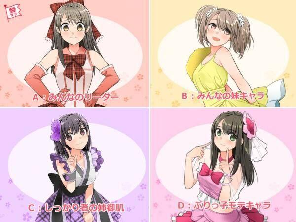アイドル4人組