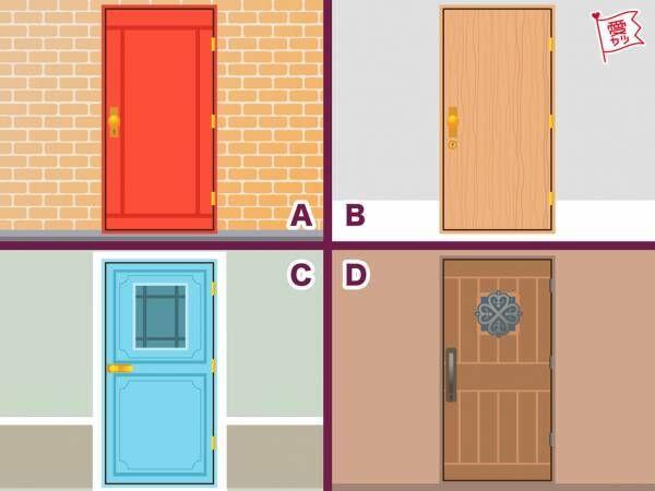 この中で一番開けたい扉はどれ?でわかる!あなたの恋愛傾向