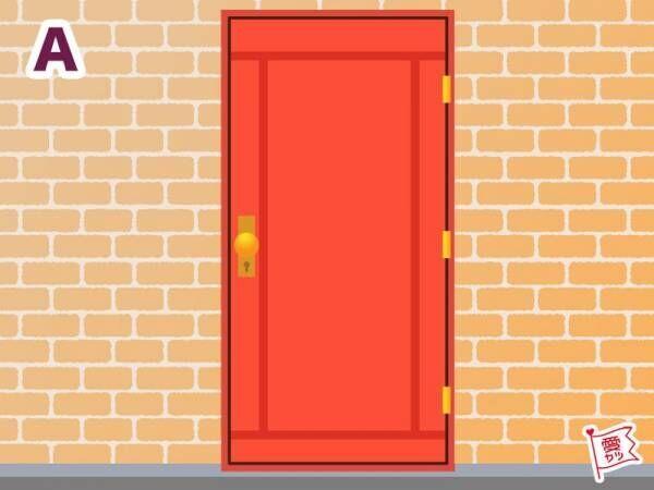 A:「赤レンガの扉」を選んだあなた