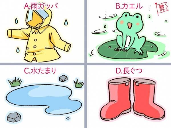 雨と言えば…?といって思い出すものでわかる!あなたの「本当の性格」