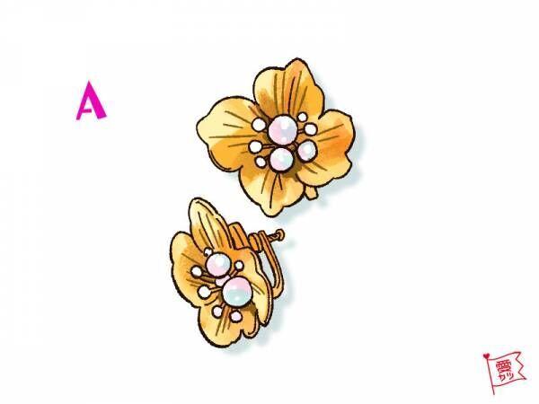 A:「お花のイヤリング」を選んだあなた