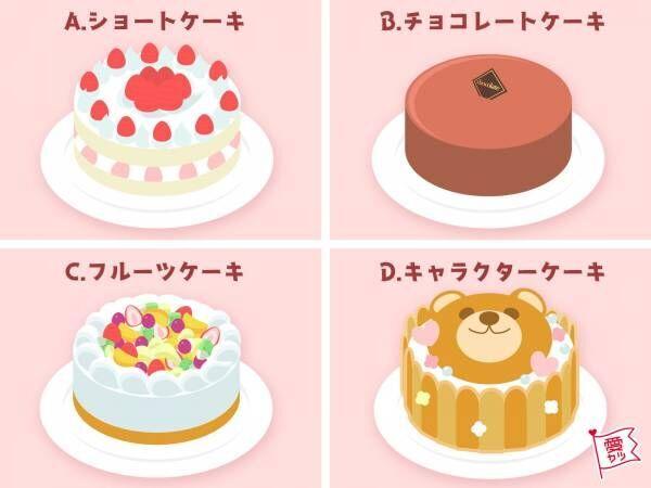 食べたいケーキでわかる!あなたと甘い恋をする「相性最高の男性」