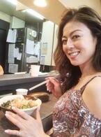 武田久美子 名古屋駅で立ち食いきしめん、ファン「カッコ良い」