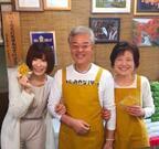 手島優 実家・煎餅屋で両親と3ショット公開「いい笑顔」の声