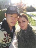 亀田和毅がメキシコ出身の年上美人妻を初公開