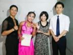 キンタロー。 社交ダンス日本代表に選ばれ「努力は裏切らない」