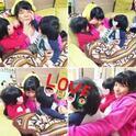 三倉佳奈 子供たちが姉・茉奈に熱烈チュー攻撃する姿公開「いつも見守ってくれてありがとう」