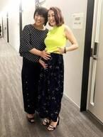 北斗晶 第二子妊娠中のSHELLYに驚嘆、2ショット公開「綺麗な妊婦さん」