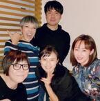 井上和香 ピーター主催の忘年会に参加、土田・こじるり・ミッツらと集合ショット