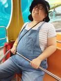 ニッチェ江上、遊園地に行くもお腹の肉で安全バーが下りないハプニング