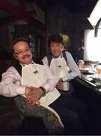 """草刈正雄、『ドクターX』""""蛭間院長""""西田敏行と高級焼き肉店で2ショット「ここのお肉本当に美味いんだよなぁ~!」"""