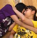 ももクロ玉井詩織、高城れにと抱き合って寝ている写真を公開「撮られた!笑」
