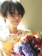 畑野ひろ子、42歳の誕生日を迎え「中学生以来のショートにしました」