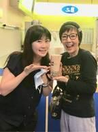 戸田恵子、福原愛の案内で台湾へ「愛ちゃんと旦那さんはめちゃ可愛いカップル」