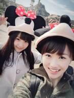 稲場愛香、先輩モー娘。工藤遥との恋人みたいなラブラブ2ショットを公開
