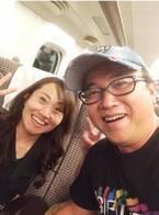 キンタロー。 新幹線でスギちゃんと遭遇、2S写真が「巻き髪かわいい!」と評判