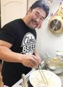 北斗晶 夫・健介が様々な料理に挑戦し始めたことを報告、難関のカルボナーラも大絶賛