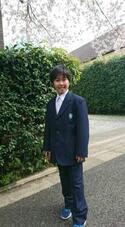 鈴木福 中学校の制服姿公開、部活も楽しみ「もうワクワク!」