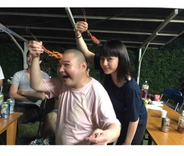 内山信二が平愛梨家で行われたBBQの様子公開、オデン・サザエ…