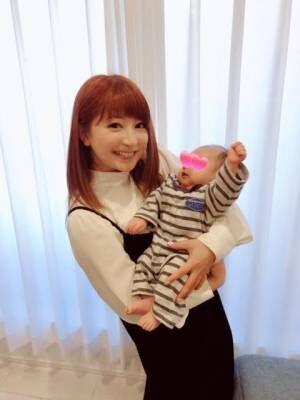 矢口真里、保田圭の子どもと初対面「目力はママ譲りでした」