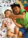 東尾理子、娘を可愛がる息子の姿に喜び「妹思いなお兄さんになって来てくれて」