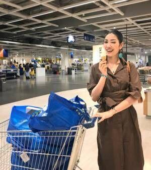 アンミカ、IKEAで買い物「全部回るのに二時間弱かかりました」