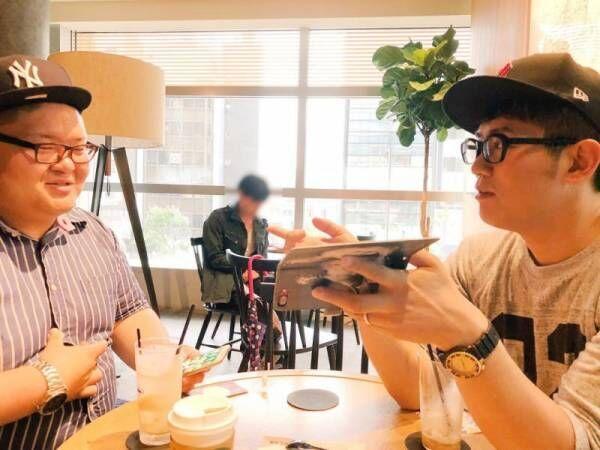 AKINA、夫・ビビる大木らとカフェ&ユニクロにお出かけ「サイズがなかった…」