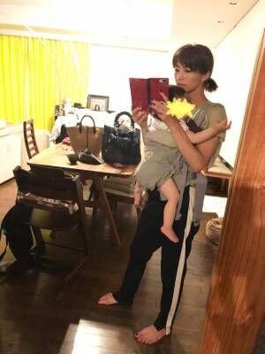 安田美沙子、手作りの朝食を手づかみで食べる息子「目を離した隙に」