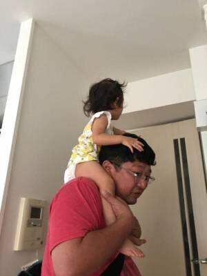 チャンカワイ、ビビりながら娘を初かたぐるま「最初、猿に襲われたかと思うほど」