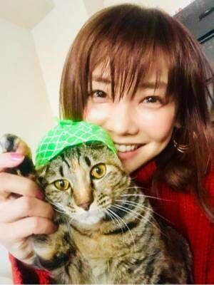 倉科カナ、愛猫との2ショット公開「可愛い過ぎ」「癒される」とファン悶絶