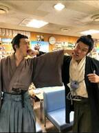 鈴木亮平、玉山鉄二とパンチショット「いがみ合う薩摩と長州」
