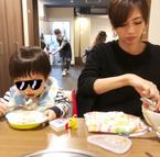 安田美沙子、食事を作る気力がなく焼肉屋へ「息子はライスの大をほぼ食べてしまう」