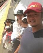 小原正子、幼稚園のママ友ファミリーとBBQ「むちゃくちゃ 楽しい時間」