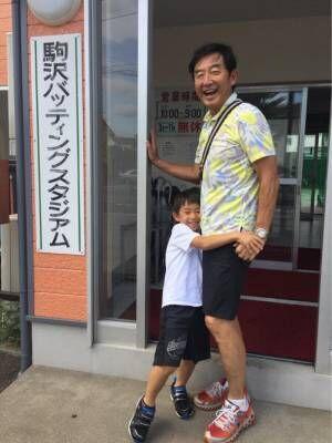 東尾理子&石田純一、息子の初挑戦を応援「やっぱり早過ぎた」