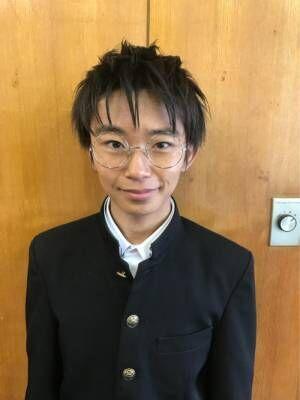 加藤清史郎のメガネ&学ランショット公開『君たちはどう生きるか』の主人公を演じる
