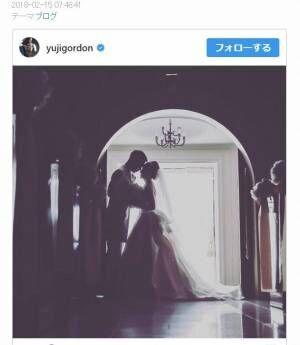 ユージ、結婚4周年を祝いドレスアップしてディナー「改めて妻に感謝」