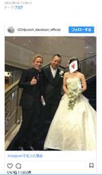 バイきんぐ・西村の結婚式にじゅんいちダビッドソンやAMEMIYAら芸人仲間が参加